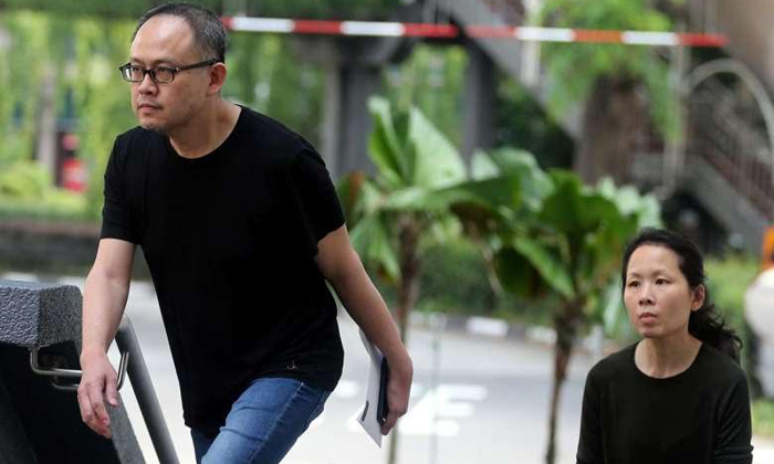 Freelance trader Lim Choon Hong and housewife Chong Sui Foon (both 48), the couple who starved the maid.