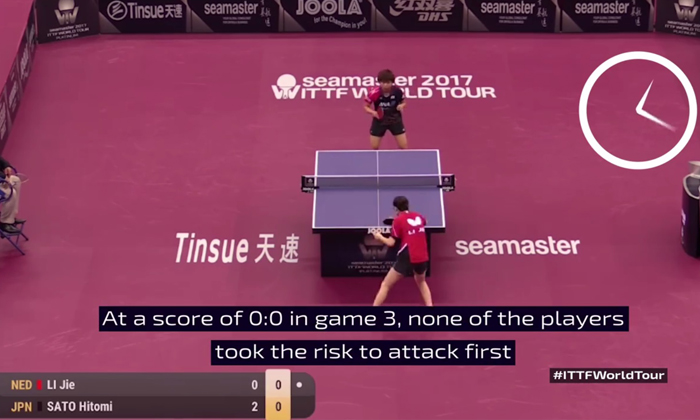 Source: SCREENGRAB FROM VIDEO/ INTERNATIONAL TABLE TENNIS FEDERATION