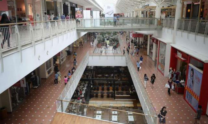 Police have warned of a false message circulating on social media claiming that two children were kidnapped at Jurong Point Shopping Centre on Monday (March 27). Photo: ST