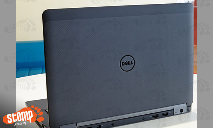 Photo showing a laptop that looks like the Stomper's