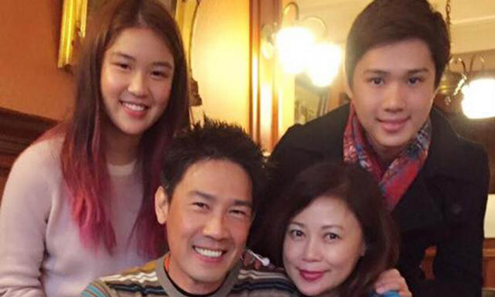 Edmund Chen and Xiang Yun with their son and daughter. Photo: Edmund Chen / Facebook