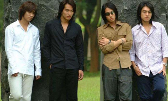 (From left) Vic Chou, Jerry Yan, Van Ness Wu and Ken Chu.PHOTO: STARHUB