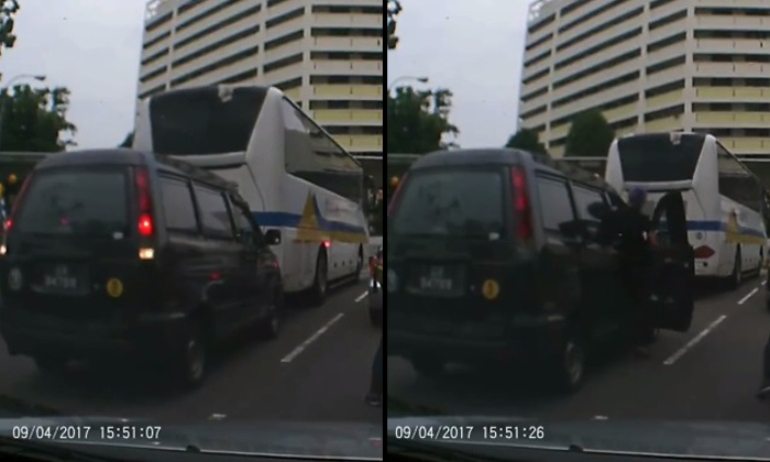 Source: Screengrab / Ben Chia Lor - Singapore Road Facebook