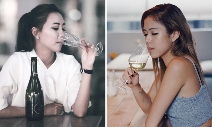 Left: Hilda Tan, right: Kimberly Yong. Photos: Instagram