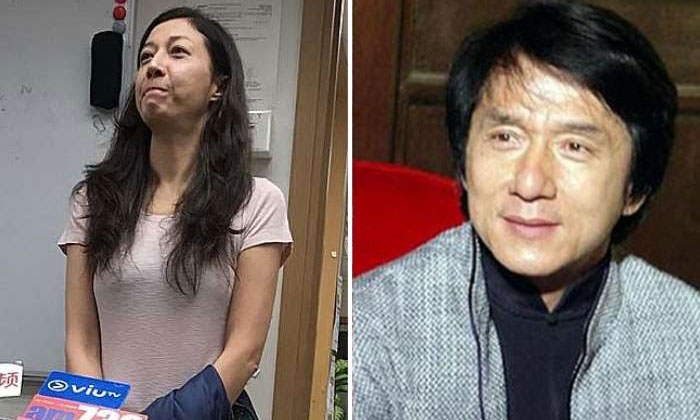 Left: Former Miss Asia Elaine Ng was arrested after her daughter reported her to the police.PHOTO: APPLE DAILY