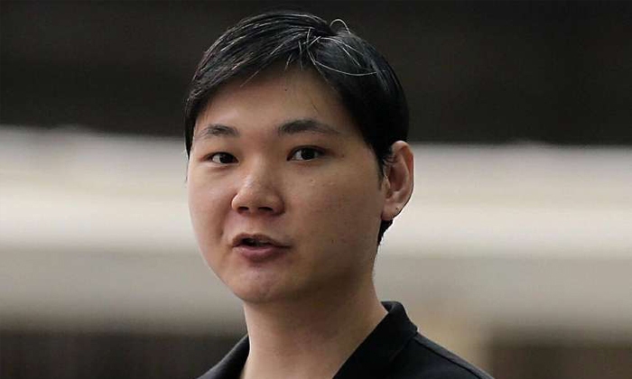 Jee was jailed in 2011 for outrage of modesty and jailed twice in 2013 for insulting a woman's modesty and for molestation. ST PHOTO: WONG KWAI CHOW