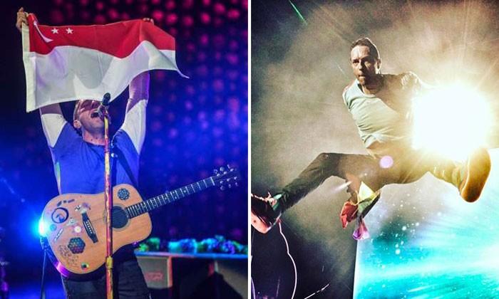Photos: ST, Coldplay/Facebook