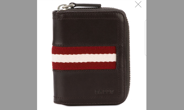 Photo illustration: Stomper Sandy lost a wallet whosedesign is almost similar to this, except that the stripe is in a different colour.