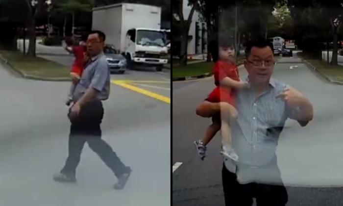 Source: Screengrab / Roads.sg Facebook video