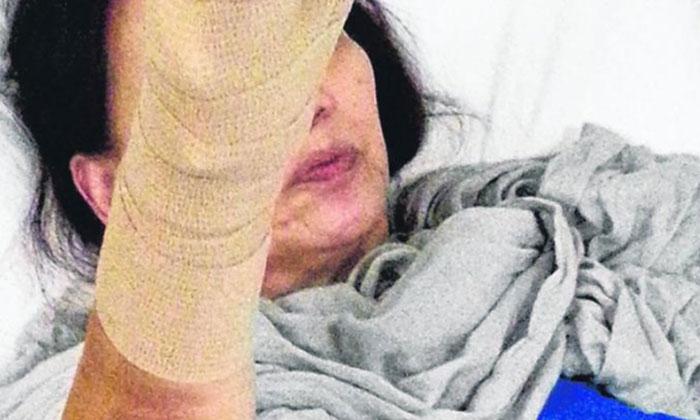 Photo: Shin Min Daily News. The victim,
