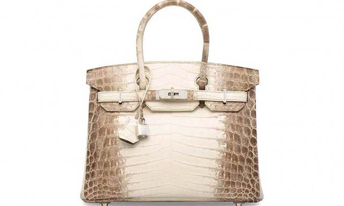 This Hermes handbag was sold for a whopping $525,000 at a HK auction