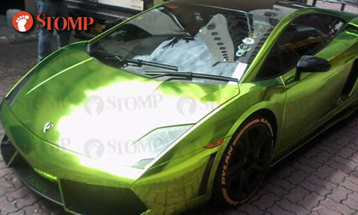 Expensive Lesson For Owner Of Flashy Green Lambo Who Parked At