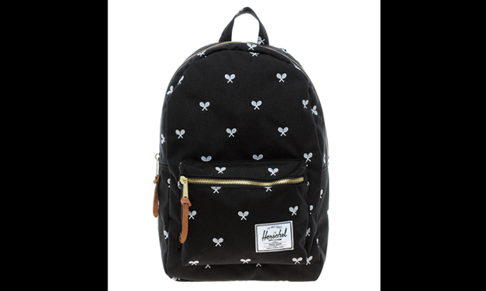 Photo illustration of a bag similar to the one that Stomper Chew lost