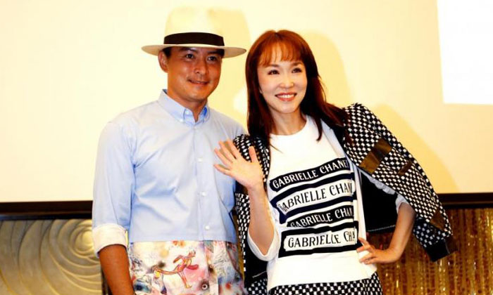 Christopher Lee and Fann Wong are back as an on-screen couple. PHOTO: THE STRAITS TIMES