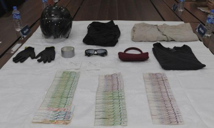Case exhibits seized.