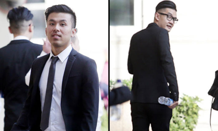 Photos: Lianhe Zaobao and The Straits Times. Tam Thanh Khong (left picture) and Michael Le (right picture).