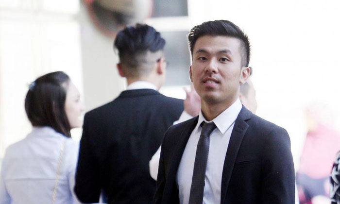 Khong Tam Thanh (pictured) is accused of raping a woman along with two others at the Carlton Hotel on Sept 10, 2016. PHOTO: LIANHE ZAOBAO