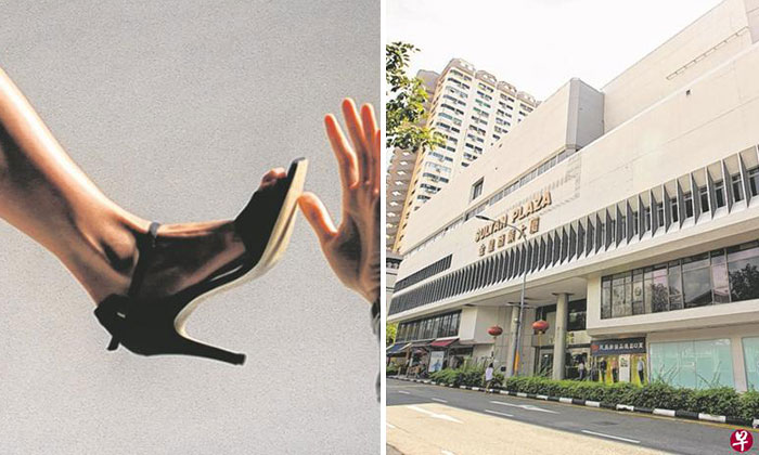 Left photo: Illustration. Right photo: Sultan Plaza, where Club One KTV Boutique is located.