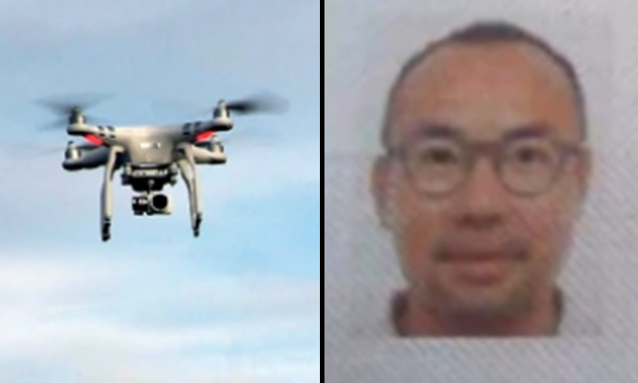 Singapore journalist, Lau Hon Meng, among the four detained in Myanmar for breaching import laws after flying drone over the country's Parliament. Photo: New Straits Times