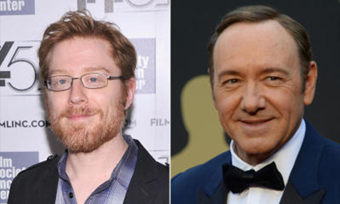 PHOTO: AFP Kevin Spacey (right) was accused of sexaully assaulting Anthony Rapp (left) when Anthony was 14 years old