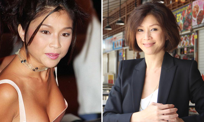 Former actress Wong Li Lin, 45, is now the executive director of the Public Hygiene Council. ST PHOTO: JOSE HONG