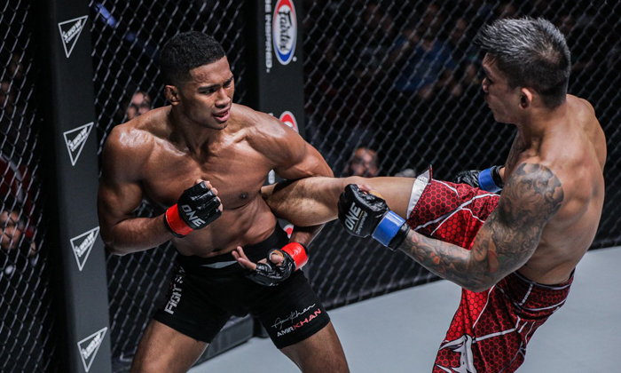 The 22-year-old had to overcome bullying and tourettes to get to where he is today (PHOTO: ONE CHAMPIONSHIP)