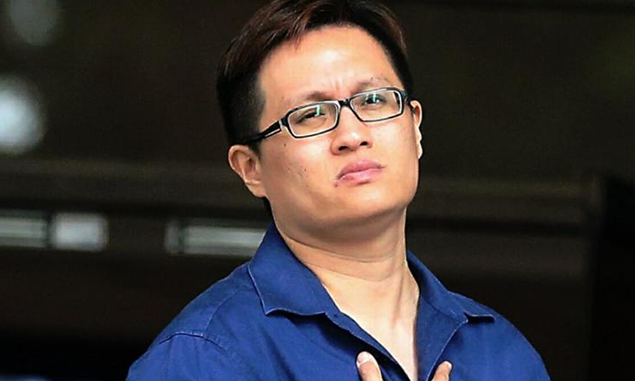 The accused, Ke Jian Liang, was sentenced to 2 weeks' jail and fined $1,000.