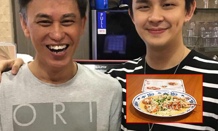 Father Mr Xue Shao Fa (left), and son Mr Xue Han Sheng (right), came up with the new dish.