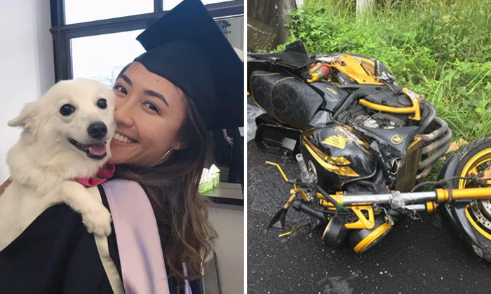 Left: Ms Vanalyn Png, 22, died from her injuries in hospital. Photos: Facebook