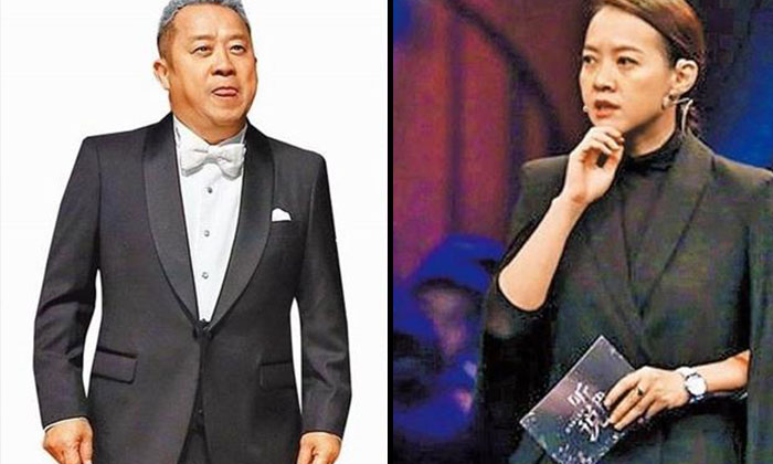 Bowie Tsang (right) said she believes that her father, Eric Tsang (left) is innocent.