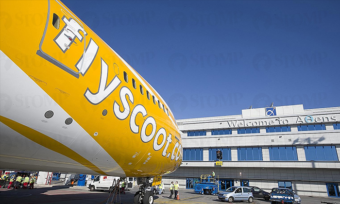 A Scoot passenger who was supposed to board a flight ended up missing it due to an error in the timing stated in an email from Scoot. PHOTO: SCOOT