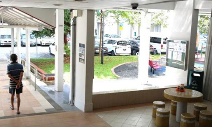 The suspect told officers he was injured by an unlicensed moneylender at the void deck of Block 234 Hougang Avenue 1.