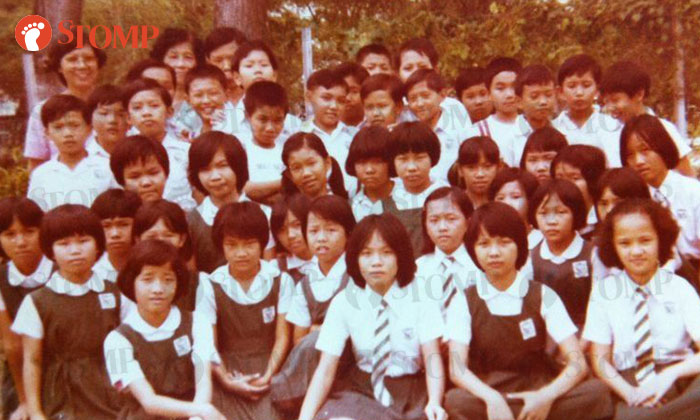 A class photo of Class 6A