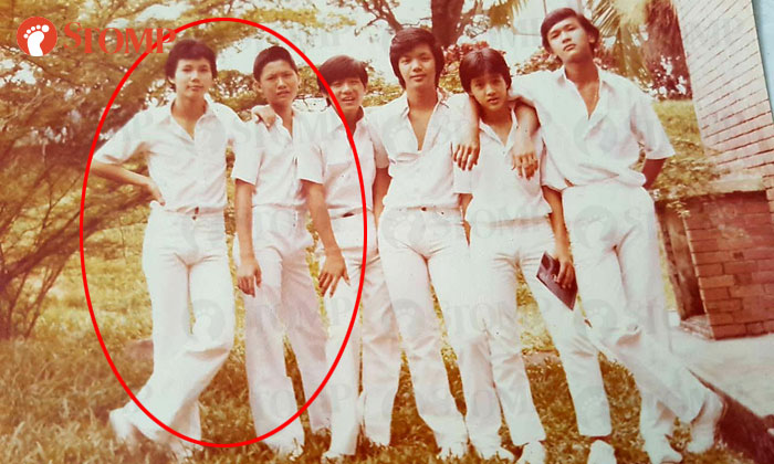 Stomper Jeremy (second from right) is looking for Tan Chin Siong (extreme left) and Lee Boon Chye (second from left).