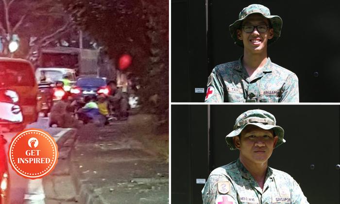 Photos: The Singapore Army / Facebook