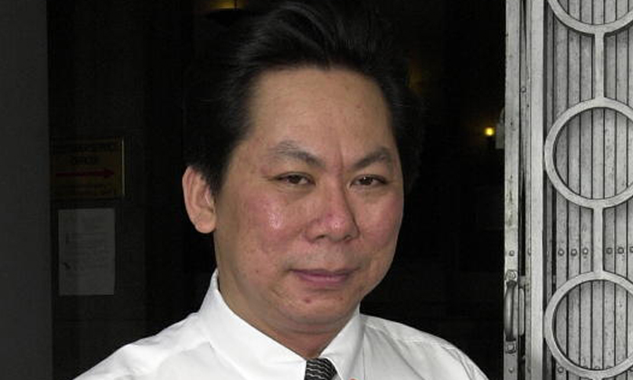 Lawyer Edmund Wong Sin Yee had defended a 24-year-old student from China who was accused of brushing his forearm against the breast of a 22-year-old woman on board an MRT train in July 2014. PHOTO: ST FILE