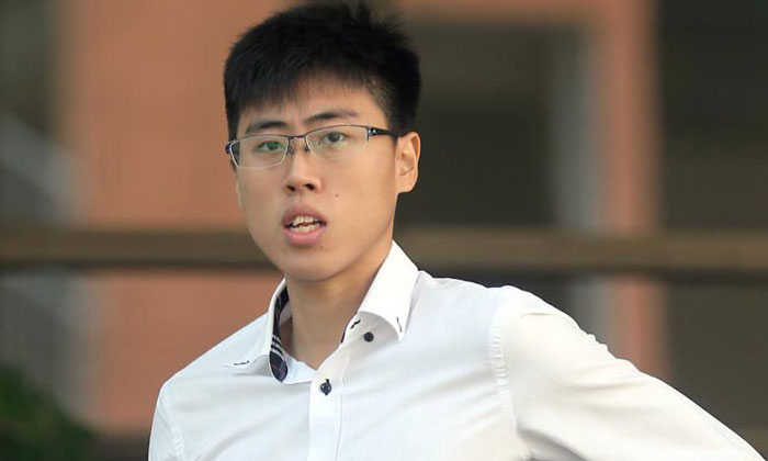 Former national badminton player Ashton Chen, 28, who was first charged in April, is said to have committed his first offence against the minor in early 2014. ST PHOTO: WONG KWAI CHOW