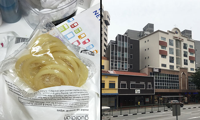 A massage parlour along Balestier Road has allegedly been providing illegal sexual services. PHOTO: SHIN MIN DAILY NEWS