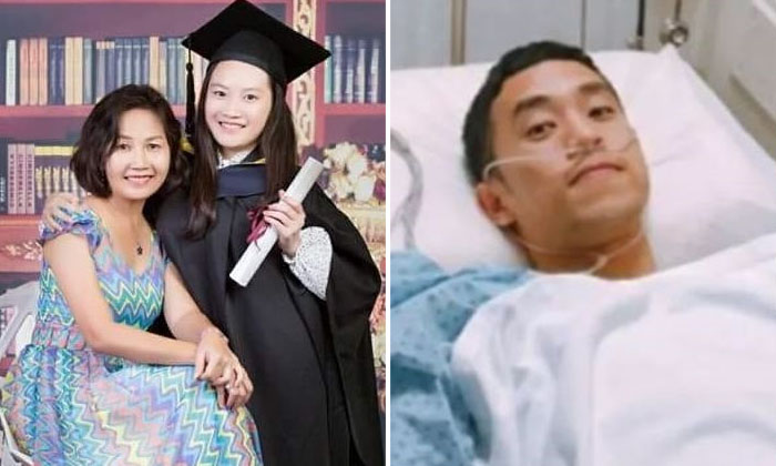 Teacher Liang Feng Pin and her only daughter, Zheng Zi Jing; Doctor-to-be, Chen Ze Rong. Photos: The Star/Asia News Network