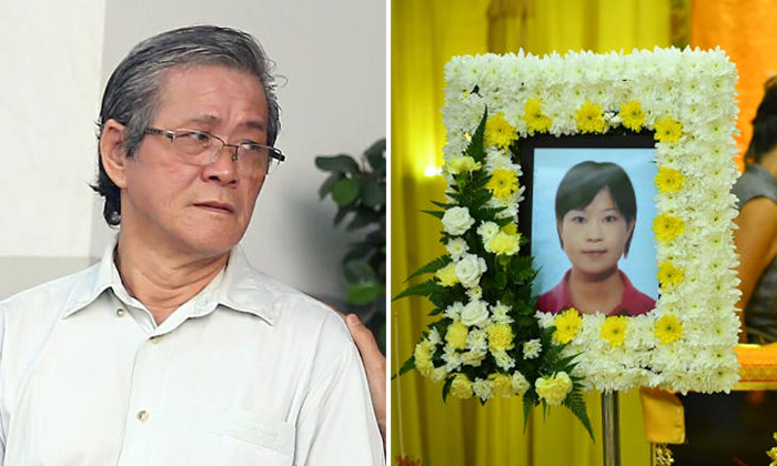 Bus driver Tan Joo Hong (left), 61, had failed to keep a proper lookout and caused the death of Ms Huang Luyang, 38, at a pedestrian crossing in Sengkang last year. Photos: The Straits Times