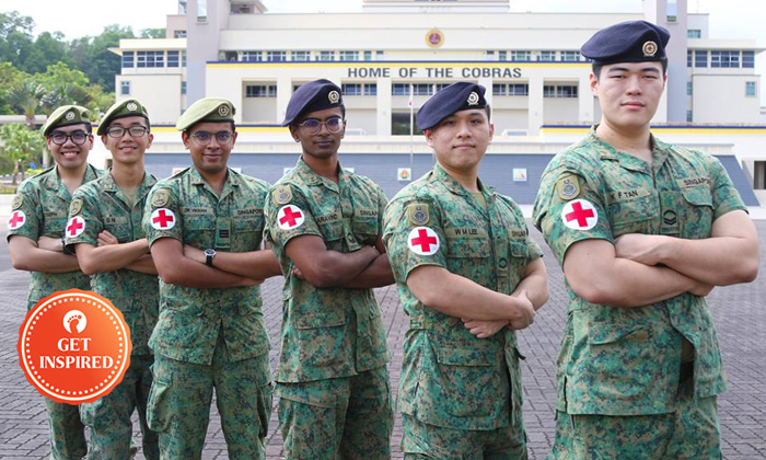Photos: The Singapore Army / Facebook