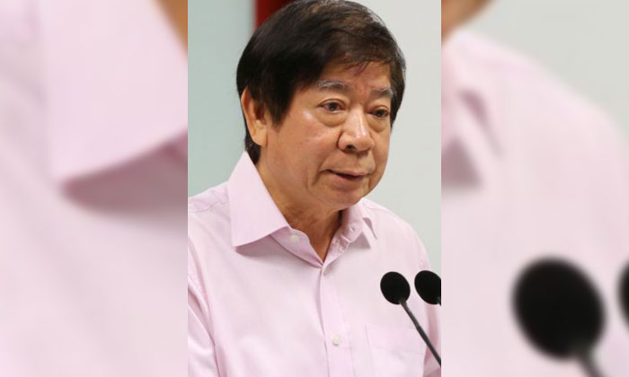 Transport Minister Khaw Boon Wan is currently warded and receiving treatment.PHOTO: LIANHE ZAOBAO