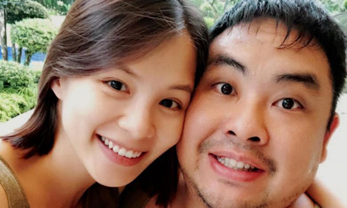 Mr Ben Goi married Malaysian-born former TV actress Tracy Lee in 2017. Their son was born in 2018. Photo: Trace Lee / Facebook