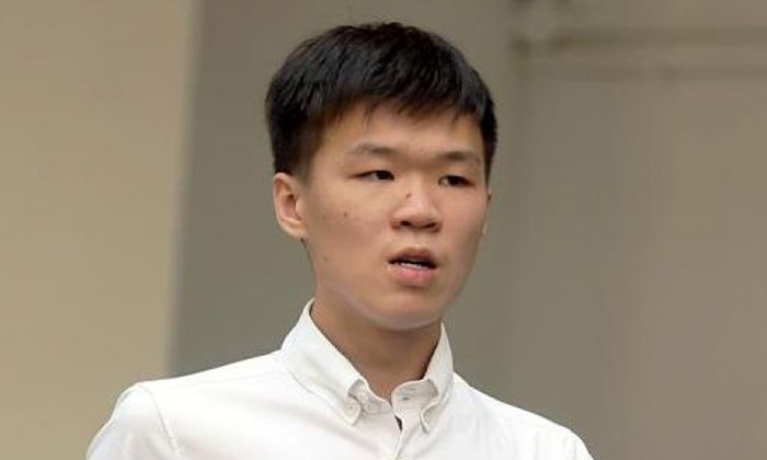 Joven Heng Gin How pleaded guilty on March 19, 2019, to injuring Mr Chua Kok Soon by riding the power-assisted bicycle in a rash manner on June 9 last year. Photo: The Straits Times