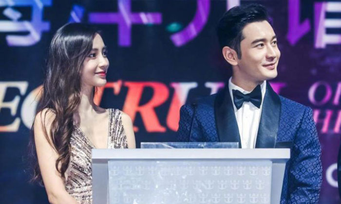 Angelababy and Huang Xiaoming were married in 2015 and have a two-year-old son, but have faced persistent scrutiny of their relationship due to the little interaction between them on social media. PHOTO: ANGELABABY/WEIBO