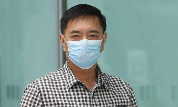 Ng Aik Leong better known as Huang Yiliang, claimed trial to a charge of voluntarily causing hurt. Photo: The Straits Times