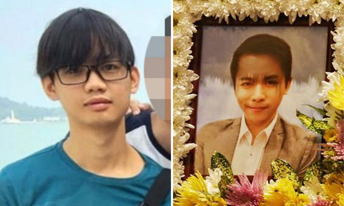 After his arrest, Yee Jing Man was assessed to be suffering from major depressive disorder, which significantly reduced his responsibility for his actions .PHOTOS: SHIN MIN DAILY NEWS