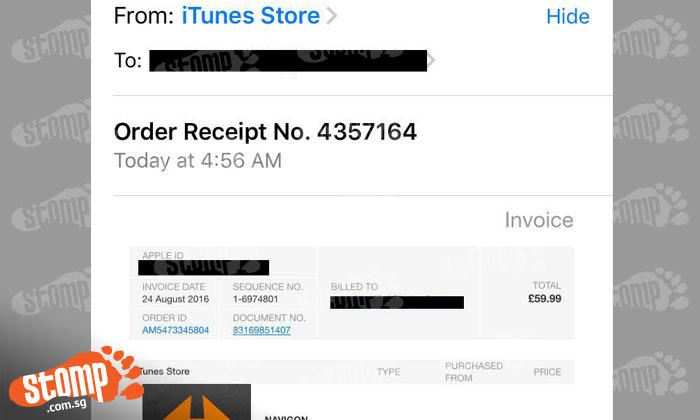 Think someone hacked your iTunes account to purchase apps