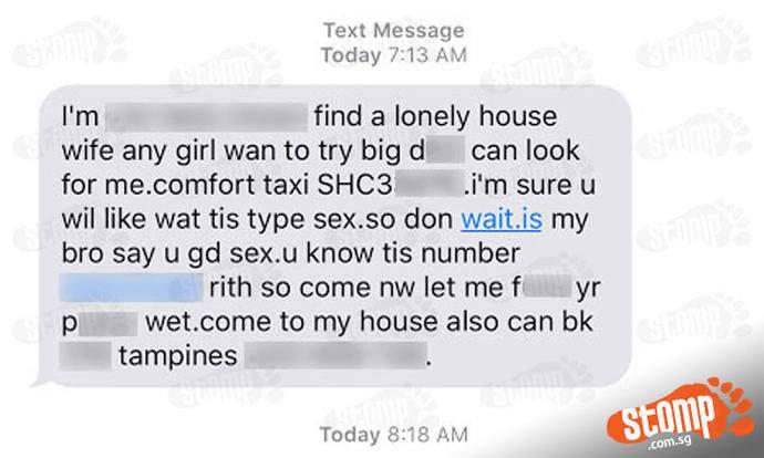 taxi sexe message de sexe