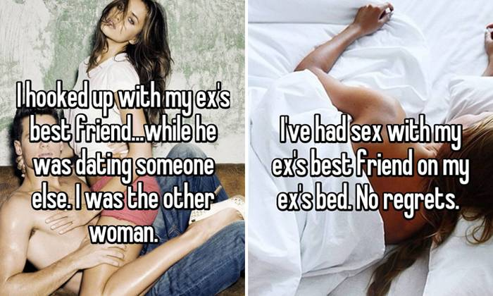 Confessions from people shamelessly dating their ex's best